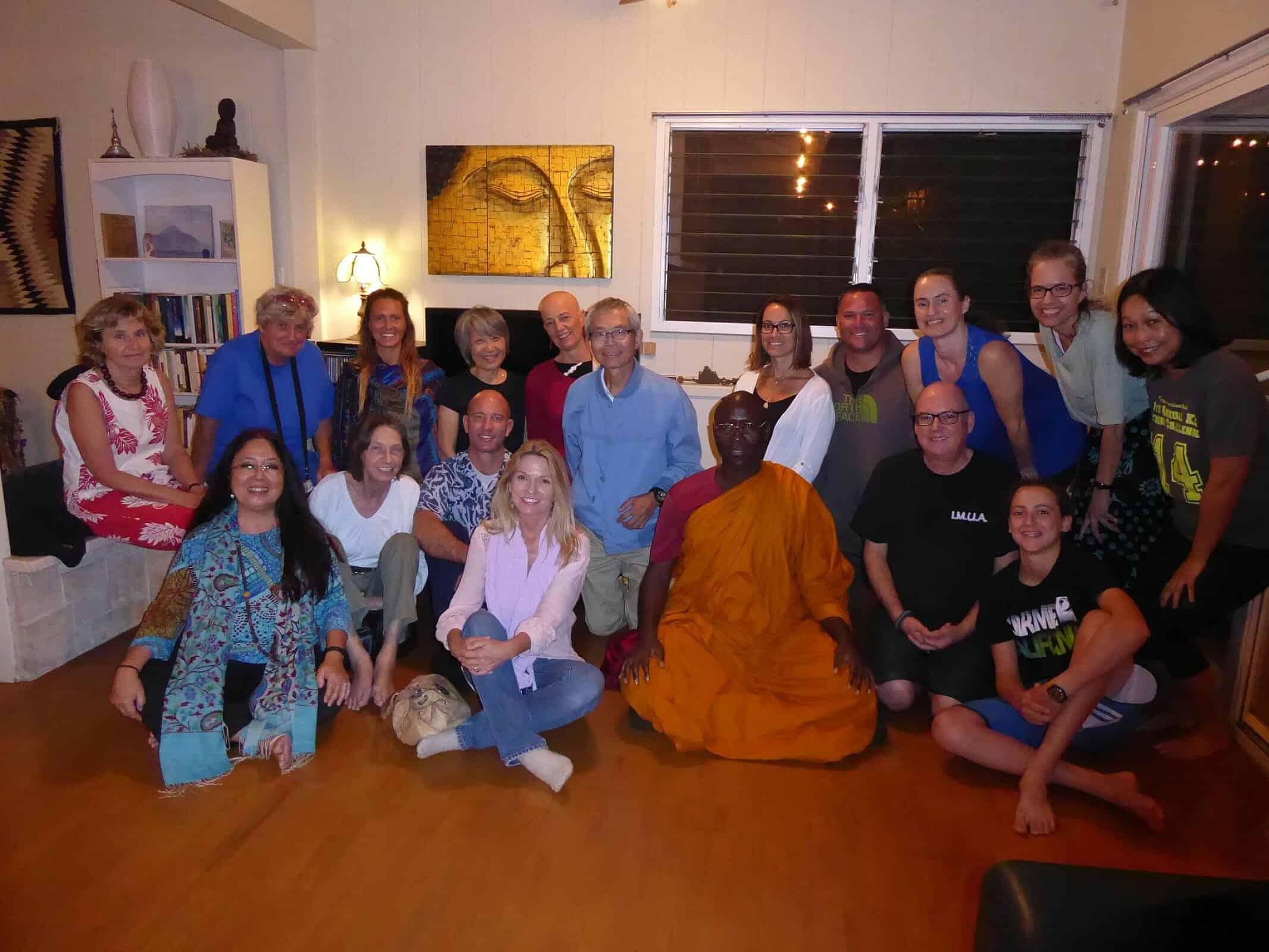 Bhanta Buddharakkhita Visits Aloha Sangha 2017