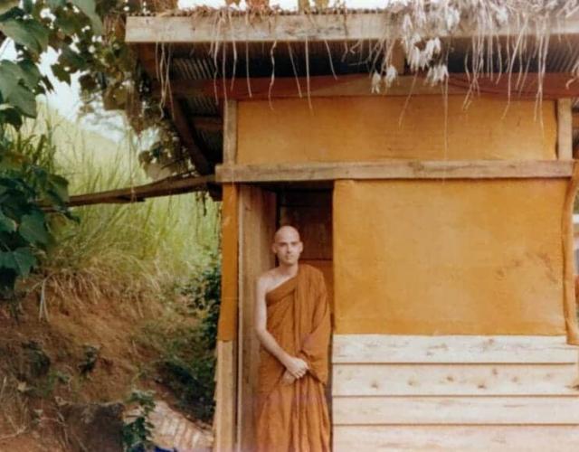 My meditation hut in Sri Lanka