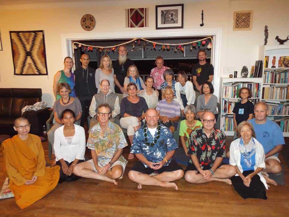 Our Sangha circa 2008